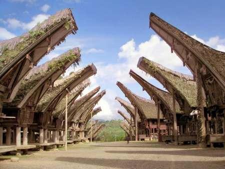 Rumah Adat Banua Tongkonan