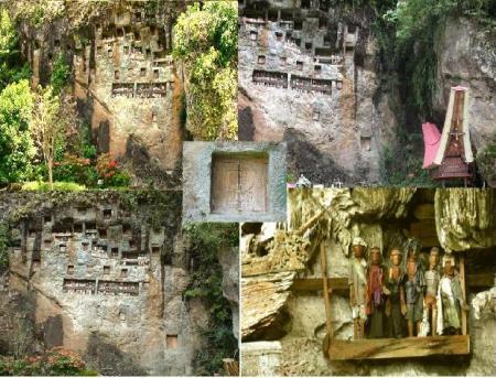 Lemo Tana Toraja (Kuburan Batu )