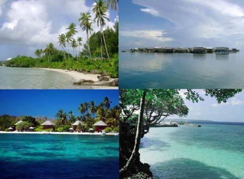 Laut, Pantai Wakatobi