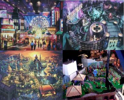 Theme Park in door